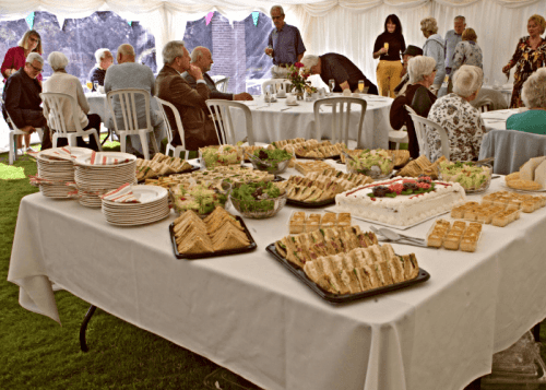 Celebration afternoon tea for official opening